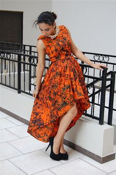 Check out these 50 fabulous ankara styles for teenagers and spice up your wardrobe with bold African print fabric. African Dresses For Women, African Print Dresses, African Attire, African Wear, African Women, African Prints, Trendy Ankara Styles, Ankara Gown Styles, Ankara Dress