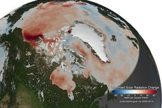This satellite map shows dangerous arctic warming feedback loop (Wired UK)