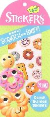 Donut Scratch & Sniff! Stickers