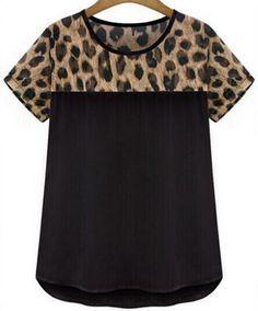 Women's Leopard Print Shirt NOW In + Plus Sizes