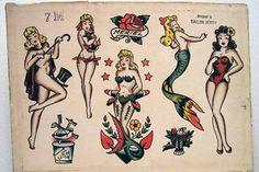 Pin up e sirene: le donne di Sailor Jerry