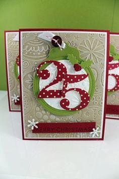 Pretty Christmas card.