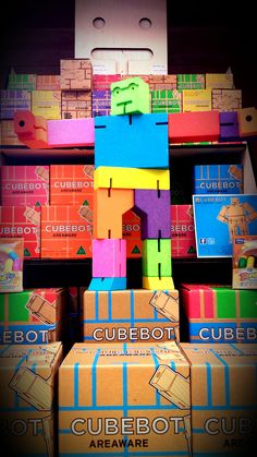 Perfect fidget tool! Cubebot...comes in three sizes and a variety of colors. Fidget Tools, School Readiness, Back To School, Colors, Colour, Entering School, Back To College, Color, Paint Colors