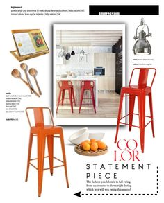 """""""Modern Kitchen"""" by viva-12 ❤ liked on Polyvore featuring interior, interiors, interior design, home, home decor, interior decorating, .wireworks, kitchen, modern and Home"""