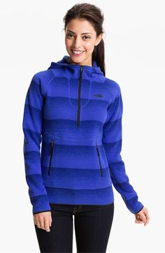 The North Face 'Crescent Sunshine' Half Zip Hoodie available at #Nordstrom