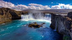 Skgafoss iceland pinterest iceland and wanderlust hd great waterfall nature wallpaper full size hirewallpapers 201 voltagebd Gallery