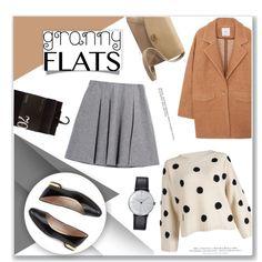 Granny Flats by anyasdesigns on Polyvore featuring mode, MANGO, Fall Winter Spring Summer, T Tahari, UGG Australia, Klein & more, H&M, Anja and grannyflats