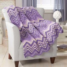 Herrschners® Serenity Crochet Afghan Kit Was: $41.99                     Now: $29.99