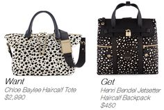#HenriBendel #Haircalf #Backpack #fashion #convertible #lynnfriedman