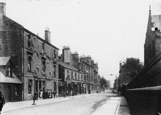 King Street Rutherglen, looking East from the graveyard