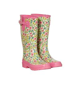 Poppy And Buttercup Liberty Print Wellies, Liberty for Target. I WANT these -  Do you see these my family???
