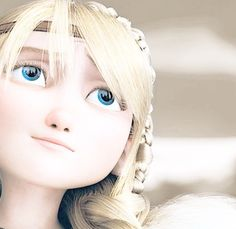 i love how she has realistic eyelashes that arent dark. blondes dont have dark eyelashes (usually) and hers arent very long either.