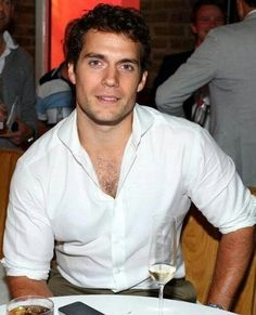 Henry Cavil... why yes... I will marry you...