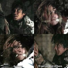 The 100 BELLARKE Do you notice how he puts his hands on her head and has those lovey puppy eyes. He look desperate to hug her tightly and just take her for himself. ❤️  They really love ❤️ each other. ❤️❤️❤️❤️❤️❤️ Also in the first slide he's sooooo HAPPY to see her okay and safe. You know y'all should just kiss already!!  Hopefully that happens in season 4. Release day is February 1 2017