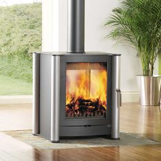 Firebelly Stoves FB1 Double Sided Wood Burning Stove @House2HomeUK