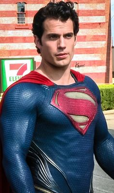 Henry Cavill as Superman Chris Pratt, Chris Evans, Heroes Dc Comics, Marvel Comics, Superman Henry Cavill, Superman Man Of Steel, Batman Vs Superman, Superman Artwork, Superman Cosplay