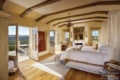 Wooden beams/ ceiling supports