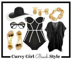 Curvy Girl Beach Style | Little Miss Mama, Curvy Girl Tips, Curvy Girl Fashion, Curvy Girl, Fashion, Fashion Blogger, Curvy Style