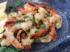 Lime and Cilantro Shrimp Recipe Best Shrimp Recipes, Seafood Recipes, Healthy Eating Recipes, Clean Recipes, Cilantro Shrimp, Skinny Recipes, Skinny Meals, Seafood Appetizers, Shrimp Dishes
