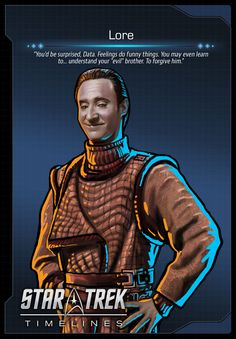 Lore (Brent Spiner) from Star Trek: The Next Generation