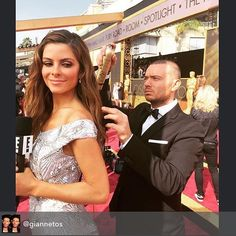 Great shot of Volume Spray at the Oscars!  Repost from giannetos #bts at the red carpet of the #oscars 2016 with stunning Maria Menounos last touch ups using my favorite hair spray from @kenraprofessional fyi Kenra Volume Spray 25 is celebrating its 25th anniversary and Kenra is celebrating with a special gold can for a limited time #lovekenra25 #dimitrisgiannetos #dimitrisgiannetoshair #hair #hollywood