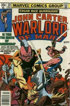 21 best marvel comics john carter warlord of mars images on late on a sleepless night tars tarkas and sola observe john carter leaving helium in a fandeluxe Images