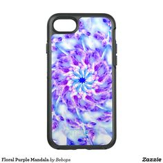 Floral Purple Mandala OtterBox Symmetry iPhone 7 Case