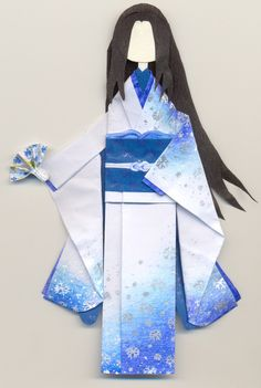 Yuki onna by PitushaZee.deviantart.com on @deviantART. This is origami!