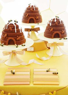 Honey bee Baby Shower Ideas for Baby Boy