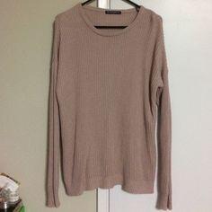 Brandy Melville Sweaters - Brandy Melville Blush Ollie Sweater