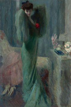 Camillo Innocenti - Mattino - 1908 - Pinacoteca Fondazione Cassa di Risparmio di Tortona