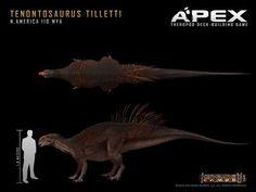 Tenontosaurus tilletti by Herschel-Hoffmeyer on deviantART: