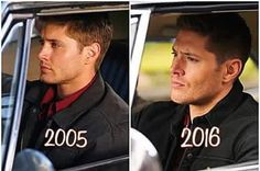 Dean then and now ☺️