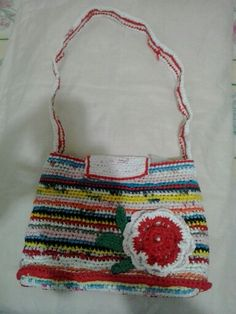 Crochet con bolsa..