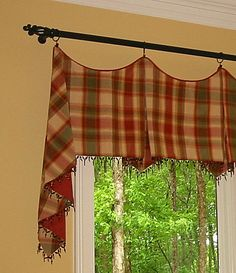 window treatments ideas | Jackson Valance | window treatment ideas