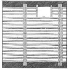 Plancher bois à simple solivage dans Art de Batir de Rondelet ...
