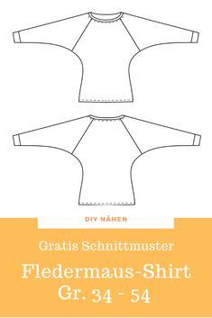 Bat shirt free sewing pattern Free for a nice bat shirt with simple # Nähanleitung, The is super e Chanel Couture, Coin Couture, Sewing Hacks, Sewing Tutorials, Sewing Tips, Cardigan Gris, Mens Sewing Patterns, Accessoires Photo, Crochet Stitches Free