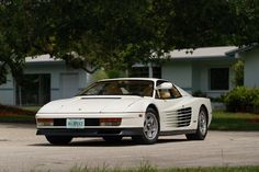 Now's your chance to own an official Miami Vice Ferrari Testarossa as it hits a Mecum auction next month.