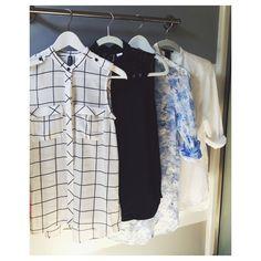 Sheer summer blouses