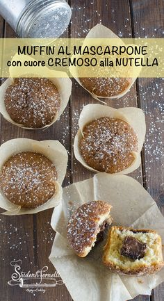 Muffins, Cheesecake, Muffin Recipes, Sweet Recipes, Easy Meals, Appetizers, Food And Drink, Bread, Cooking