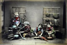These amazing hand-colored photographs of old Japan give us a history lesson about what life was like in the late 1800's to early 1900's. As an isolationist country opening its doors to the outside world for the first time in more than 200 years, a truly astounding transformation took place and, as fate would have it, photography had just been invented.  According to flickr user Yves Tennevin, the photographs are presumed to be taken by Adolfo Farsari, an Italian photographer who was based…