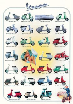 Vespa Posters at AllPosters.com