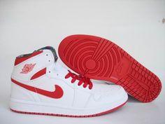 Jordan 1 Retro Red White black Men's Shoes online GO571602
