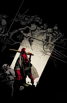 hellboy. mike mignola