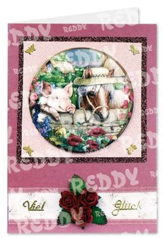 3D Sheet Piggy and Horse-746610