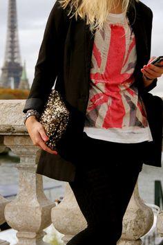Pochette & tshirt.