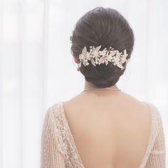 Indian Wedding Hairstyles, Elegant Hairstyles, Bride Hairstyles, Messy Hairstyles, Straight Hairstyles, Hair Design For Wedding, Long Hair Wedding Styles, Bridal Hair Buns, Bridal Hairdo