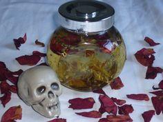 Santa Muerte Santisima Muerte Spirit Ritual Oil Samhain by RedCatt