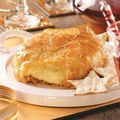 Pastry brie