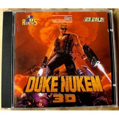 Duke Nukem 3D (3D Realms / U. S. Gold) 3d Realms, Steve Smith, Duke, Video Game, Retro Vintage, Books, Gaming, Gold, Livros